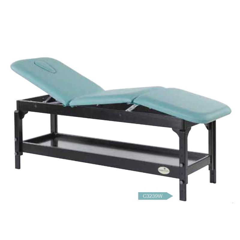 Lettino Massaggio In Legno.Lettino Legno 2 Snodi Wenge Euracom